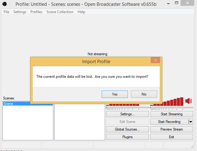 Open broadcaster software obs cam4 faqcam4 faq - La finestra sul cortile streaming ...